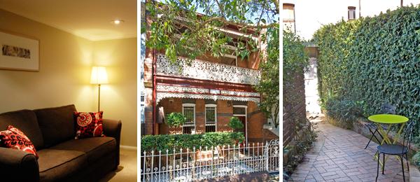Sydney Garden Apartment in Newtown North